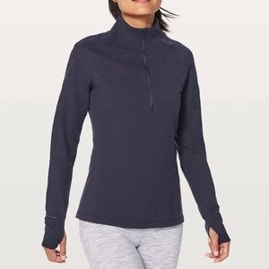 lululemon Toasty Tech Pullover in Midnight Navy